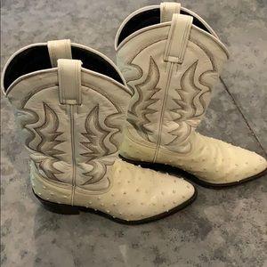 Durango boots.  Ostrich.  Great condition